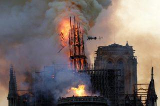 IOC pledge 500,000 euros to help ensure Notre Dame ready for Paris 2024