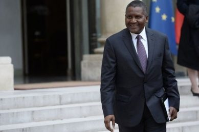 Africa's richest man withdrew $10m just to look at it