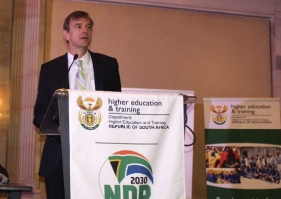 Germany Ambassador to South Africa Martin Schäfer addressing delegates in Pretoria at the launch of the Skills Initiative for Africa (SIFA) Project's Funding Window 1. Picture: ANA Reporter