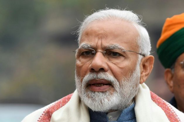 Narendra Modi was elected prime minister on a promise to shake up the economy and boost jobs but questions are now being asked about his competence. AFP/File/PRAKASH SINGH