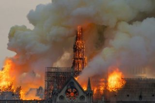 Racist conspiracy theories abound in Notre Dame fire