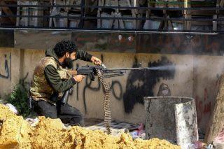 Fear, uncertainty haunt shelter near Libya front line