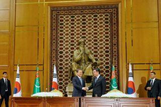 South Korea's Moon kicks off three-country Central Asian tour