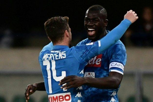 Koulibaly Scores Twice As Napoli Delay Juventus U2019 Title