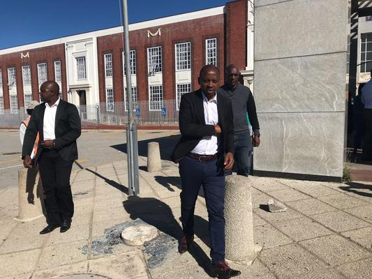 NEC resolution unconstitutional, Lungisa says as he defies suspension order