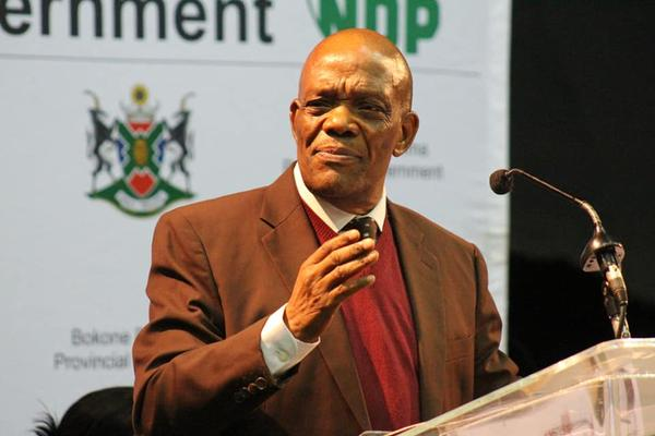 Former North West premier Job Mokgoro. FILE PHOTO: African News Agency (ANA)