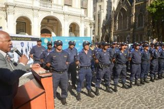 Cape Town mayor welcomes 18 new law enforcement officers