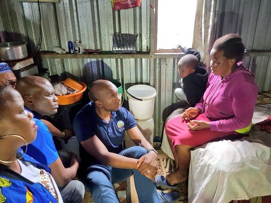Take ANC food parcels but vote DA, Maimane tells KZN crowd
