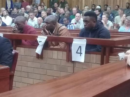 Three poachers from the notorious Ndlovu Gang were each sentenced to an effective 25 years behind bars by the Eastern Cape High Court in Makhanda on Wednesday. PHOTO: Supplied