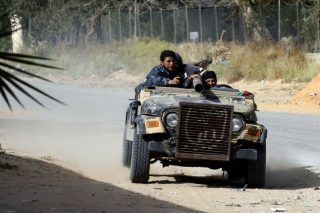 Anti-Haftar forces near Libya capital launch counter-attack