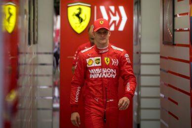 Mick Schumacher eager to build on Ferrari test
