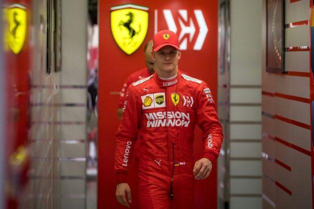 Mick Schumacher got a taste of Formula One racing during tests in Bahrain this week. AFP/File/ANDREJ ISAKOVIC