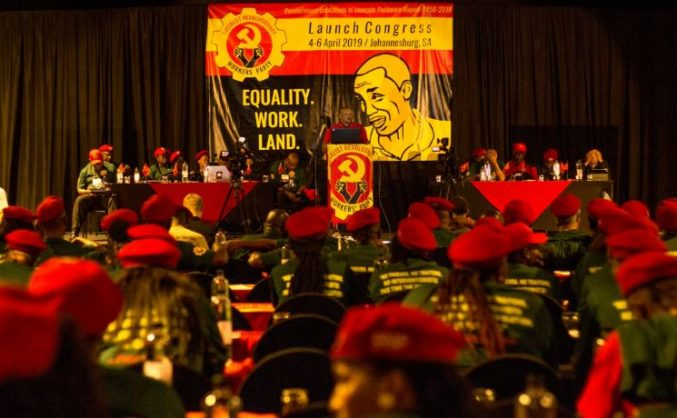Irvin Jim, Socialist Revolutionary Workers Party fire first election salvo at Ramaphosa, ANC