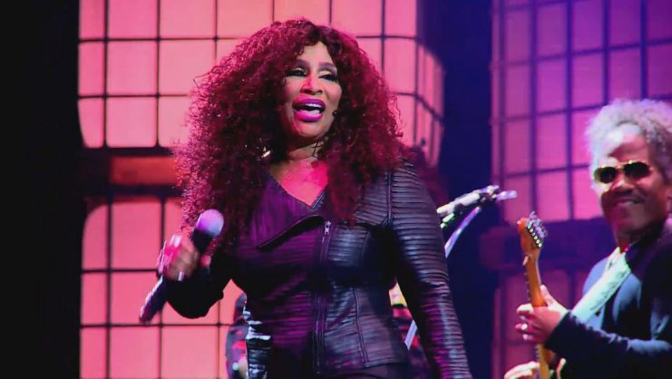 Chaka Khan performs at the 2019 Cape Town International Jazz Festival.  Picture by Carlos Muchave
