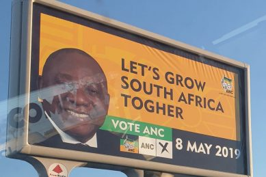 ANC to 'immediately remove' billboard with embarrassing spelling error