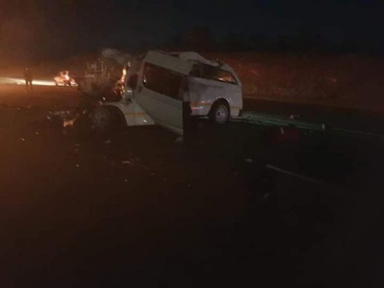 Death toll rises to ten after head-on crash on N1 in Limpopo