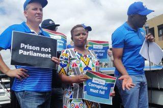 'Ngeke sizwe ngawe,' Van Damme tells EFF's Mashego after DA township ban comment