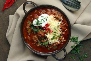 Recipe: Kilian Palmer's low carb chille con carne