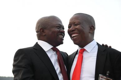 David Mabuza can see the future, says Malema