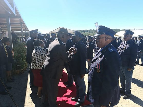 Police Minister Bheki Cele officially opened a R50 million state-of-the-art police station to serve the communities of Matatiele and Mount Fletcher in the Eastern Cape near the Lesotho border, 16 April 2019. Picture: Supplied