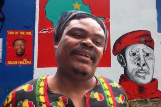 Rasta's portrait of Julius Malema divides social media