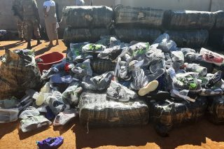 Sneakers worth R1.1m found in house near Mozambican border