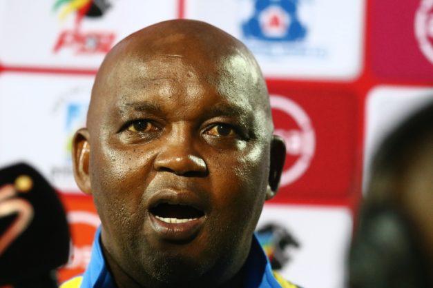 Pitso Mosimane, coach of  Mamelodi Sundowns (Photo by Anesh Debiky/Gallo Images)