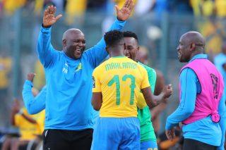 Pitso explains wild celebration after Mahlambi goal