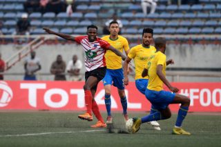Lobi Stars defender Duru confirms Sundowns talks