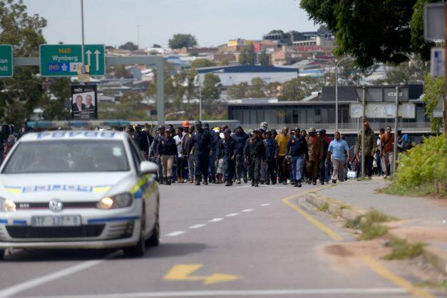 WATCH: Alex protesters demand to speak to mayor Mashaba