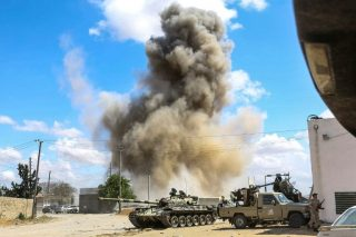 Libya air strikes target airport, field hospital and equestrian centre