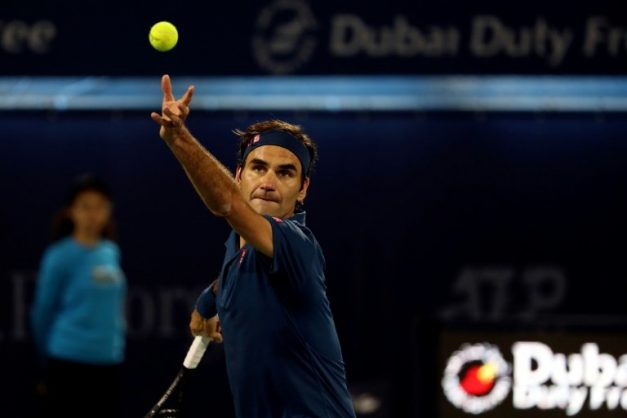 Roger Federer lifted the Miami title for the fourth time. AFP/File/Karim Sahib