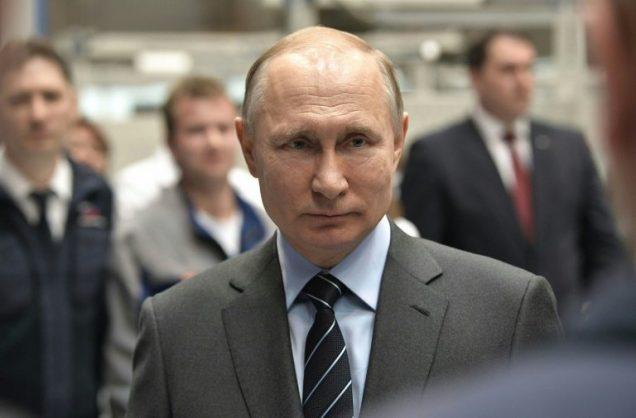 Russian President Vladimir Putin. SPUTNIK/AFP/Alexey NIKOLSKY