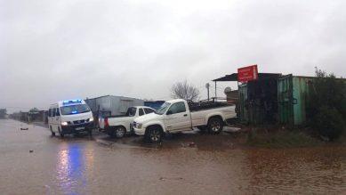 PICS: Heavy rains flood Mpilisweni informal settlement in