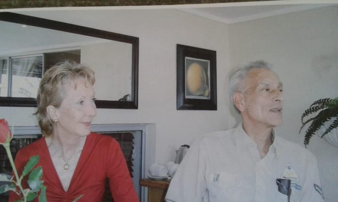 The late Rita and Manie Fourie.