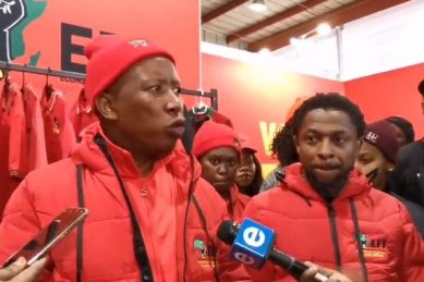 EFF's Ndlozi mocked for being Malema's 'waterboy'