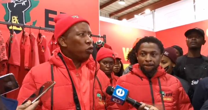 Malema agrees with Ndlozi refusing to take 'sleeping tablets of rugby euphoria'