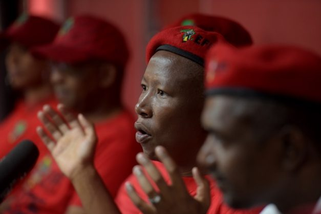 Malema says EFF willing to partner with ANC in coalitions, but not DA again