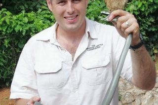 Durban 'snake man' captures black mamba in Glenwood