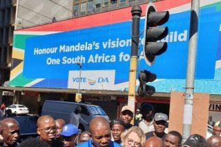 DA celebrates Mandela Day with pensioners in Rustenburg