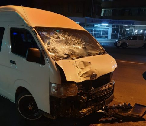 Pedestrian killed by taxi in the moot. Photo: Netcare 911