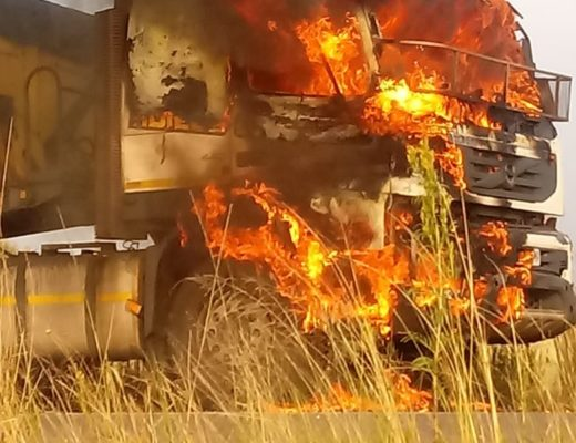 At least 60 trucks have been torched nationwide in the past month.