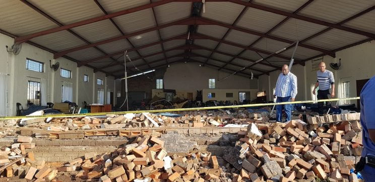 Condolences pour in for Pentecostal Holiness Church after tragic wall collapse