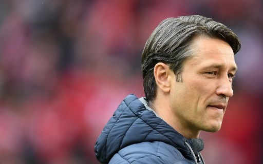 Bayern Munich's Croatian headcoach Niko Kovac arrives for the German first division Bundesliga football match FC Bayern Munich v Hanover 96  in Munich, southern Germany on May 4, 2019. (Photo by Christof STACHE / AFP) / DFL REGULATIONS PROHIBIT ANY USE OF PHOTOGRAPHS AS IMAGE SEQUENCES AND/OR QUASI-VIDEO