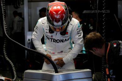 Emotional Hamilton excused Monaco media briefing