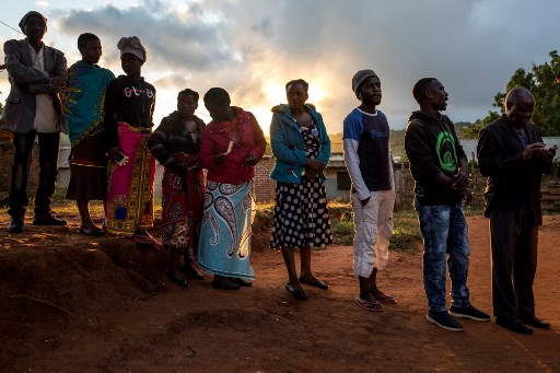 Malawi votes in tight three-way election