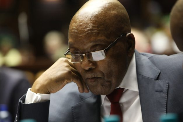 May 20, 2019. Former South Africa President Jacob Zuma in the Pietermaritzburg High Court where he is hoping to avoid corruption charges. Picture : JACKIE Clausen / Pool