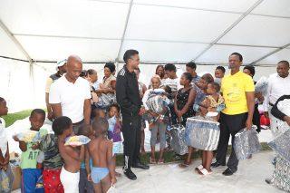 Health MEC visits KwaZulu-Natal disaster relief camp reeling after devastating floods