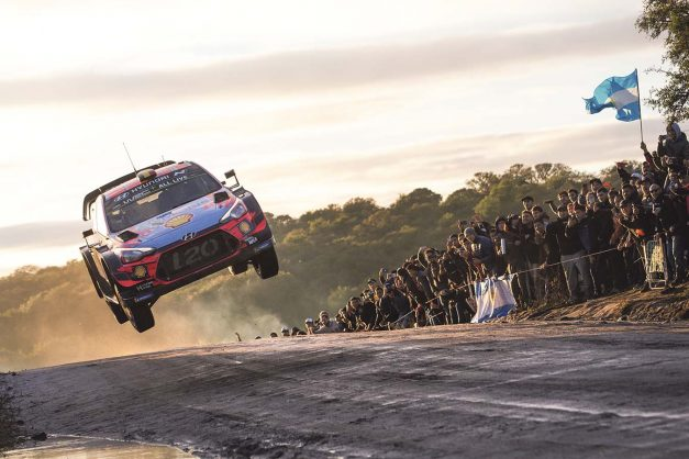 All new rally debuts in South America