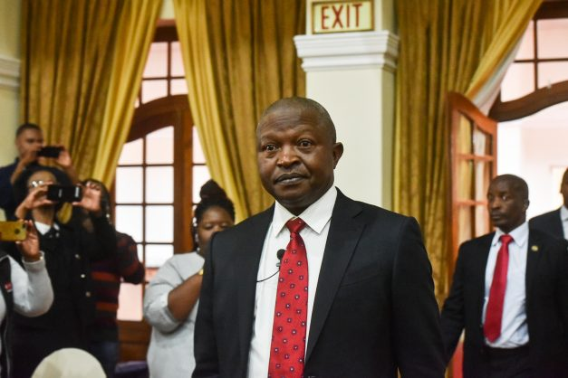 Mabuza leading Covid-19 vaccine rollout is like 'blind leading the blind'